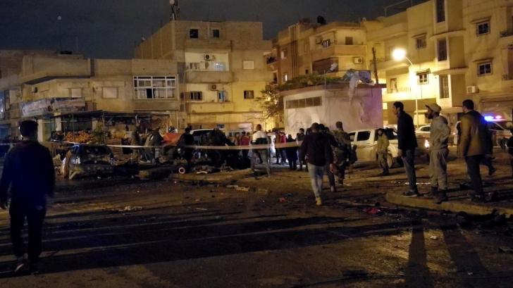 Atentat cu mașini capcană în Libia