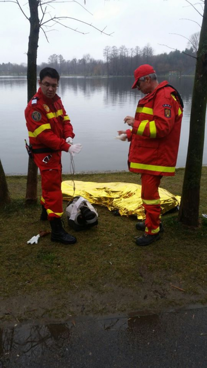 Cadavru descoperit plutind în Lacul IOR din București