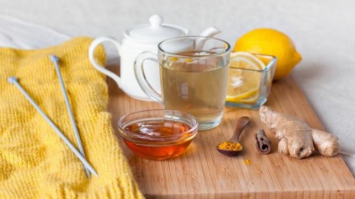 Ce se întâmplă în corpul tău dacă bei zilnic ceai de ghimbir cu miere de albine. Uluitor!