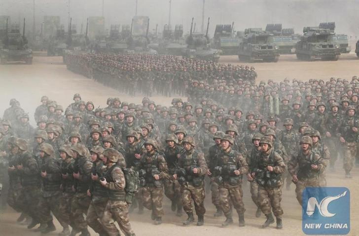 China, demonstrație de forță