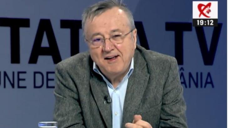 Jurnalistul Ion Cristoiu, la Realitatea TV