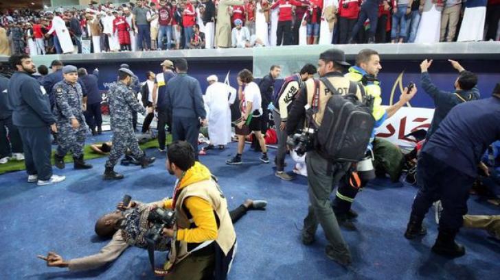 ZECI de victime în urma unui incident la finala Cupei Naţiunilor din Golf