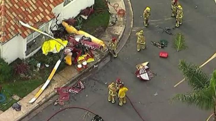 O aeronavă s-a prăbușit peste case în SUA. Bilanțul până la această oră