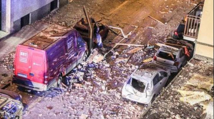 Explozie lângă Milano: Şase persoane rănite