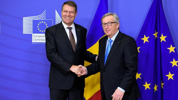 Iohannis merge la Bruxelles și discută cu liderii UE despre legile justiției