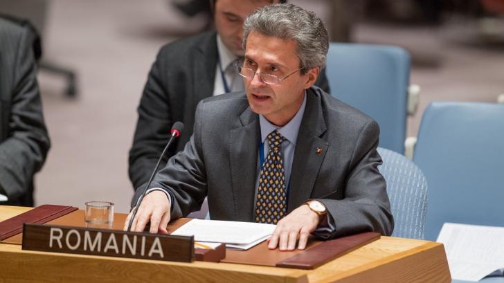 Ioan Jinga, ales preşedinte al Grupului Ambasadorilor Francofoni la ONU