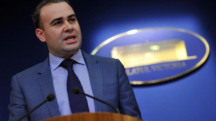 Darius Vâlcov, numit consilier de stat în aparatul propriu de lucru al premierului
