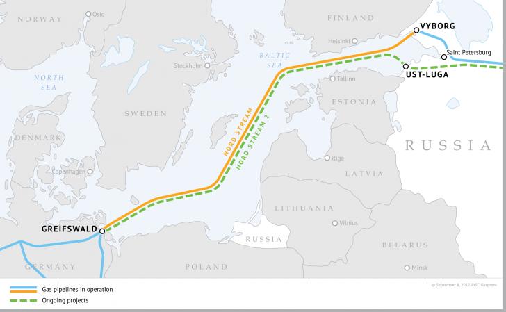 SUA consideră că proiectul Nord Stream 2 este o ameninţare pentru securitatea energetică a Europei
