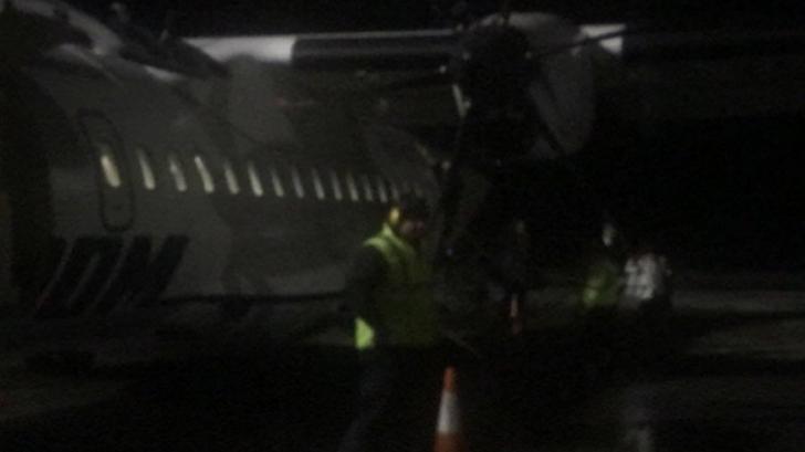 Panică la bord!Un avion, în care se aflau miniștrii Meleșcanu și Pop, a aterizat de urgență la Iași