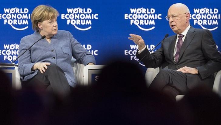 Angela Merkel la Davos