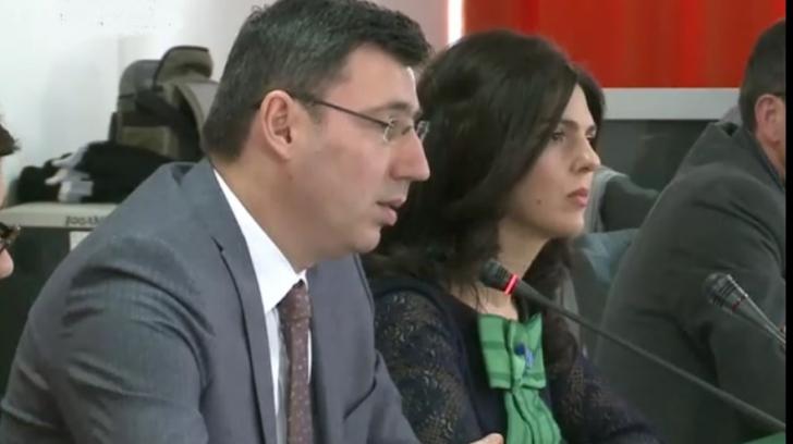 Ionut Misa, în Parlament