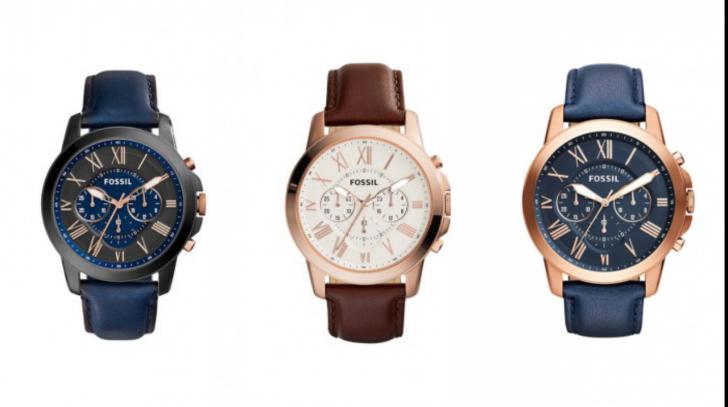 Oferte ceasuri Fossil. 10 dintre cele mai bune modele