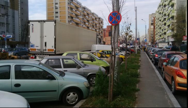 Altă întrebare pentru doamna Firea: De ce este interzisă parcarea de-a lungul Șoselei Pantelimon?