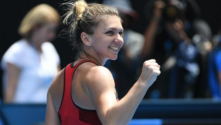 Prima reacție a Simonei Halep după calificarea în sferturile de finală de la Australian Open