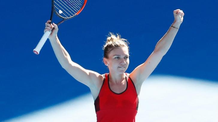 REVOLTĂTOR. Simona Halep, luată peste picior înaintea finalei Australian Open