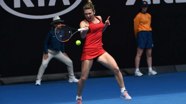 Simona Halep a pierdut finala de la Australian Open şi locul 1 WTA, după un supermeci cu Wozniacki