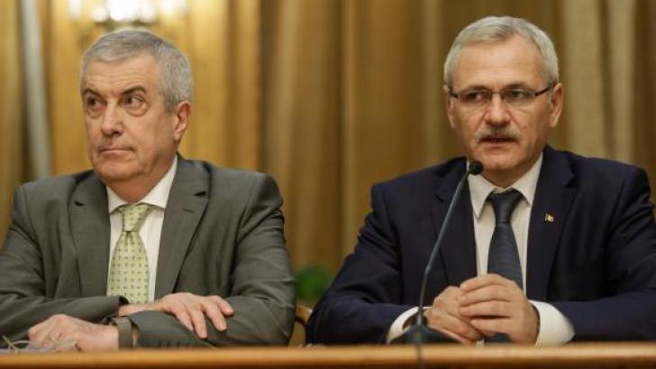 Calin Popescu Tariceanu si Liviu Dragnea