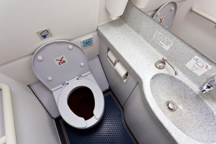 Meteoritul căzut din toaleta unui avion