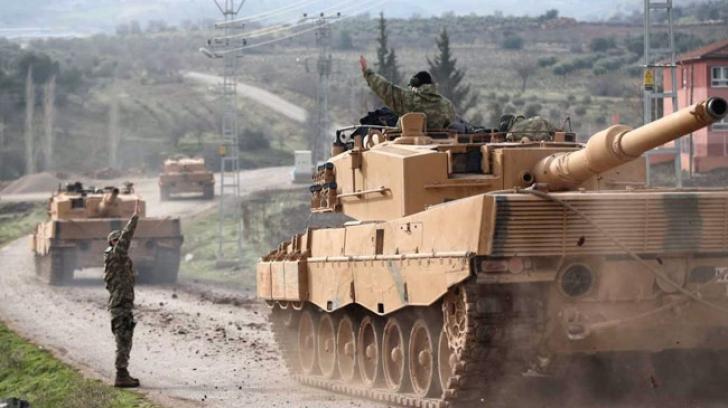 Turcia, ofensivă în Siria
