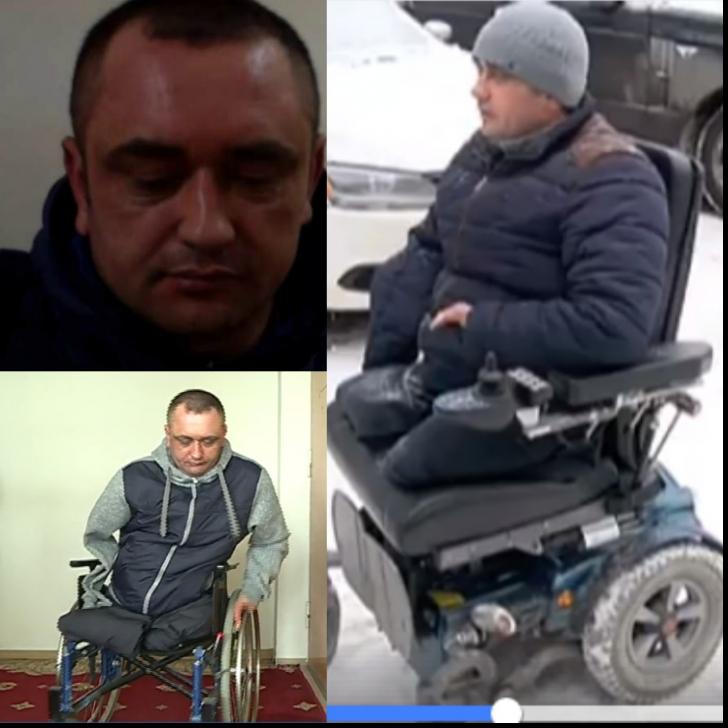 Caz halucinant în Moldova: bărbat fără mâini şi fără picioare, CONDAMNAT că a bătut un poliţist