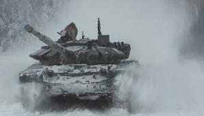 Tancuri transformate în utilaje