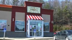 Jaf armat la o pizzerie
