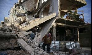 Ghouta de Est, sub bombardamente