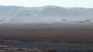 Planeta Marte, fotografiată de roverul Curiosity