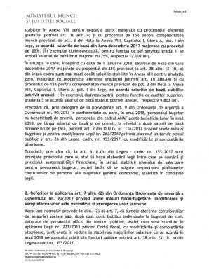 Document intern al Ministerului Muncii