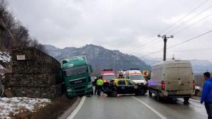Accident pe Valea Oltului
