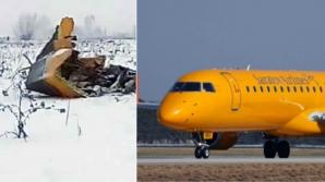 Avion prăbușit în Rusia
