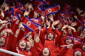 Sportivii din Coreea de Nord