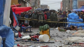 Explozie carnaval Bolivia