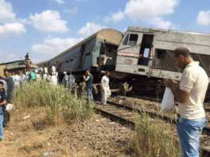 Accident de tren în Egipt
