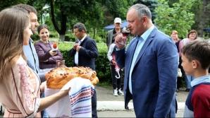 Președintele R. Moldova Igor Dodon, la Sadova