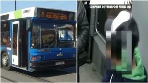 Imaginile cu momentul în care un adolescent din Iaşi e înjunghiat într-un autobuz, date publicităţii