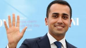 Luigi di Maio, candidat al populiştilor din Mişcarea Cinci Stele