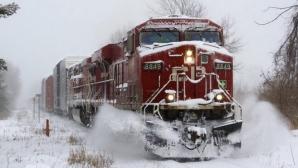 Podeaua unui tren care circula în Teleorman s-a prăbuşit, în mers! Clipe de groază pentru pasageri!