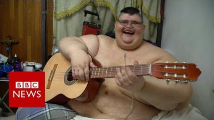Cel mai gras om din lume a slăbit 250 de kg. Cum a reuşit