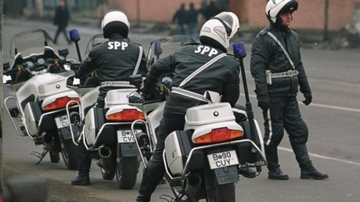 Echipaj al SPP în acțiune
