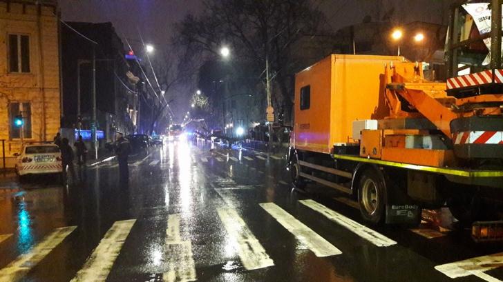 Scurgere de gaze în centrul Capitalei. Bulevardul Dacia, parţial blocat