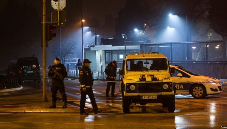 Atac cu grenadă la Ambasada Statelor Unite din Muntenegru. Suspectul s-a sinucis