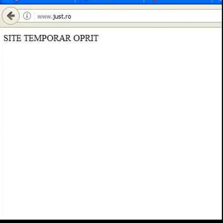 Site-ul just.ro