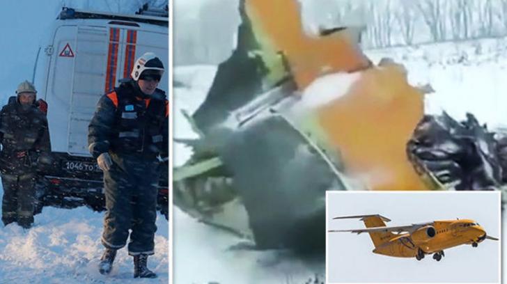 Accident aviatic Rusia