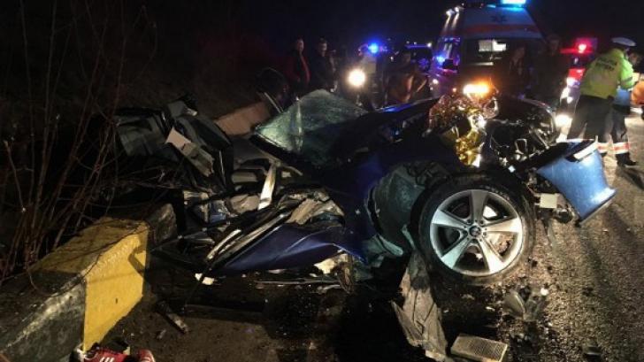 Accident grav soldat cu două victime, pe DN5