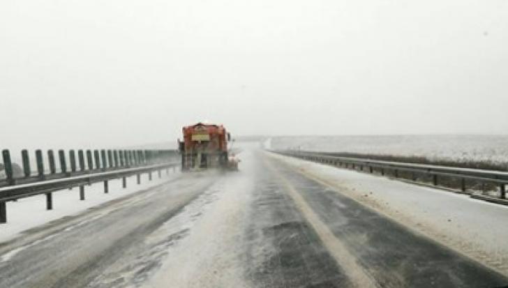 Autostrada Soarelui, închisă între Bucureşti şi Constanţa. Dobrogea, izolată! - UPDATE