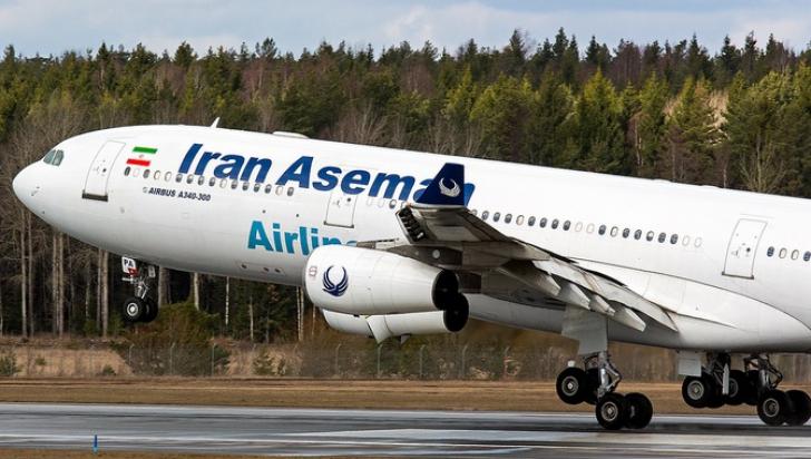Avion de pasageri, PRĂBUŞIT în Iran. Peste 60 de persoane, la bord. Nu există supravieţuitori