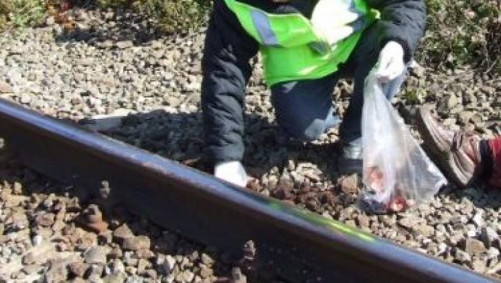 Descoperire macabră în Deva: un cadavru a fost găsit pe şinele de tren
