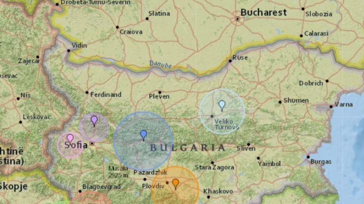 Cutremur puternic la granița de sud a României