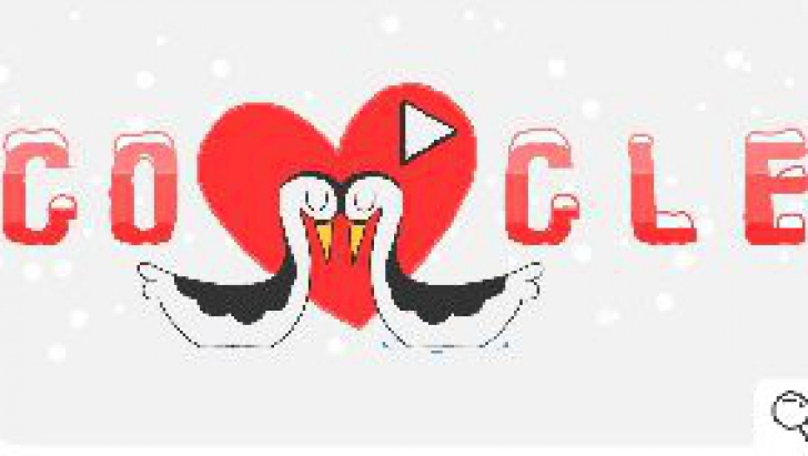 Jocurile doodle cu zăpadă - Ziua 6 și la mulți ani de Ziua Îndrăgostiților